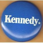 Kennedy EMK 46A - Kennedy Campaign Button