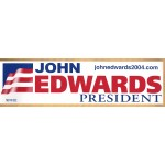 Hopeful 41D - John Edwards President (Bumper Sticker)
