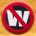 Kerry 14A - No W Campaign Button