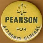Indiana 5A - Pearson For Attorney General Campaign Button