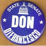 NJ 22N - State Senate Don DiFrancesco Campaign Button