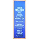 NJ 32R - Official Challenger Jon S. Corzine General Election November 7 , 2000 Ribbon