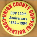 NJ 46J - Union County GOP Convention 1994 Campaign Button