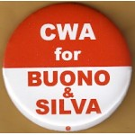 NJ 6N - CWA for Buono & Sliva Campaign Button