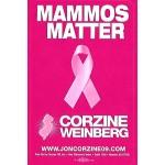 NJ 71B - Mammos Matter Corzine Weinberg Lapel Stickers