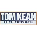 NJ 7M -Tom Kean U.S. Senate  Bumper Sticker