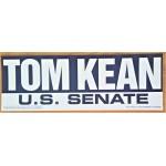 NJ 7M -Tom Kean U.S. Senate  Bumper Sticker