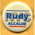 NY 11B - NYC Rudy Alcade Campaign Button