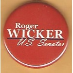 MS 1B - Roger Wicker U.S. Senate Campaign Button