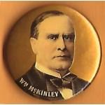 McKinley 9M - Wm McKinley Campaign Button