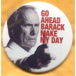 Romney 17B - Go Ahead Barack Make My Day Campaign Button