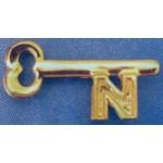 Nixon 9M - (Nixon) N Lapel Pin