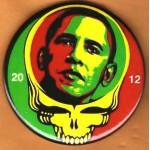 Obama 9E - 2012  Campaign Button