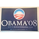 Obama 10G - Obama '08 Campaign Rally Sign