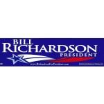 Hopeful 100B - Bill Richardson President  (Bumper Sticker)