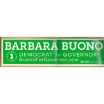 NJ 45J - Barbara Buono Democrat for Governor Bumper Sticker