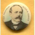 Parker 7D -  Alton B. Parker Campaign Button