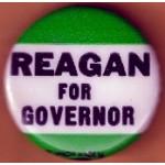 Reagan 1Q - Reagan For Governor Campaign Button