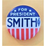 Smith 7D - For President Smith  Campaign Button