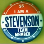 Stevenson 4G - $5 I Am A Stevenson Team Member Campaign Button