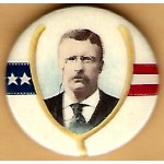 T.R. 5K - (Teddy Roosevelt) Campaign Button