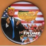 Trump 21E - We The People Trump 2020 Campaign Button