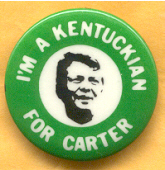 Jimmy Carter Campaign Button
